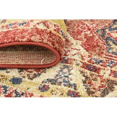 Found it at Wayfair - Serenity Terracotta Area Rug