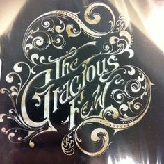 The Gracious Few album cover, but I love the font and filligree for a tattoo!
