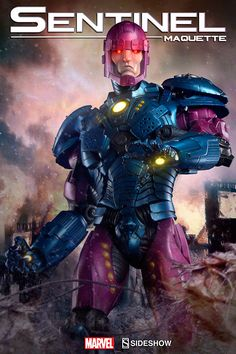 Marvel Sentinel Maquette by Sideshow Collectibles | Sideshow Collectibles
