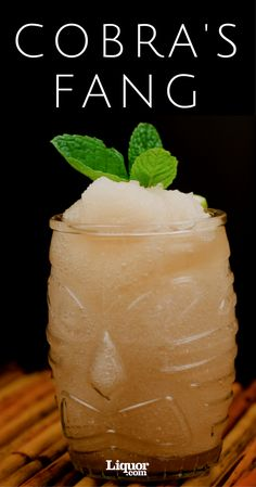 Tiki Drinks We Love: The Cobra's Fang. Learn why this Don the Beachcomber #Rum and Falernum creation is making a comeback.