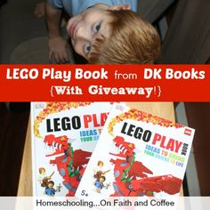 LEGO Play Book from DK Books {With Giveaway!} | Homeschooling...On Faith and Coffee