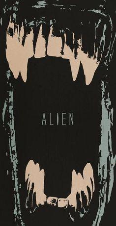 affiche alternative au film Alien