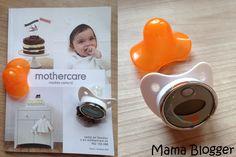 Chupete-termómetro de Mothercare.
