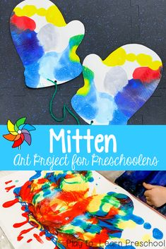 Learn about symmetry while making gorgeous Preschool Projects, Preschool Learning, Toddler Activities, Preschool Activities, Teaching, Snow Theme, Winter Theme, Kid Art, Art For Kids