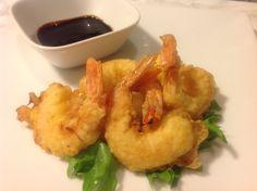 Creveti tempura| Prawns Tempura Tempura Prawns, Seafood Recipes, Cauliflower, Shrimp, Fish, Meat, Vegetables, Kitchen, Cooking