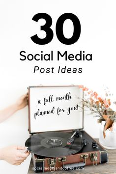 Do you need a whole list of fresh post ideas for your social media page? Here are 30 post ideas to put on your content calendar today! Social media marketing | online business | Facebook marketing | Instagram marketing | Twitter | small business marketing | blog | blogging | blogger | marketing ideas | social media tips | entrepreneur | solopreneur | #onlinebusiness #business #tips #facebook #Instagram #Twitter #smallbuisness #entrepreneur #solopreneur #socialmedia #marketing #blog #blogging