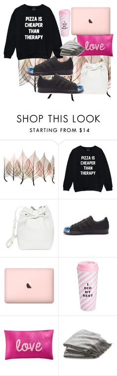 """""""Untitled #750"""" by brandi-gurrola on Polyvore featuring Artistica, Mansur Gavriel, adidas, ban.do, INC International Concepts and Crate and Barrel"""