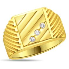 Buy Designer & Fashionable Simple Ring For Men. We have a wide range of traditional, modern and handmade Bands Mens Rings Online Mens Ring Designs, Gold Ring Designs, Gold Earrings Designs, Gents Gold Ring, Gold Ring Images, Stone Rings For Men, Gold Ring Price, Mens Rings Online, Beautiful Gold Rings