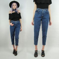 80s High Waisted Jeans