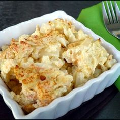 Hungry Girl Cheesy Cauliflower Casserole