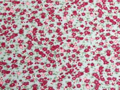 Floral Cotton Poplin - Georgia Mint | buy in-store and online from Ray Stitch
