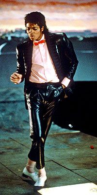 """From the moment Jackson danced across the lighted floor in the 1983 video for """"Billie Jean,"""" legions of teenagers wanted his slick leather suit, pink shirt and red bow tie."""