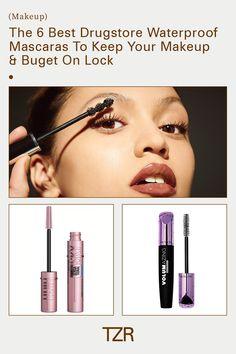 Beauty, mascara Best Drugstore Waterproof Mascara, Drugstore Mascara, Makeup Dupes, Iconic Lashes, Cheap Makeup, Makeup Designs, Blackpink Jisoo, Makeup Organization, Beauty Make Up