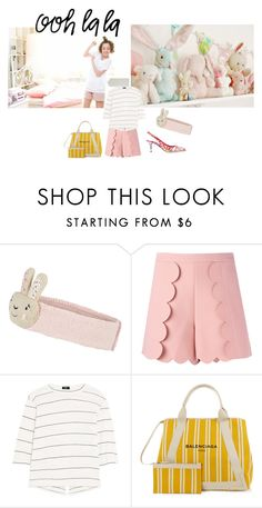 """Untitled #1275"" by angelworlds21 ❤ liked on Polyvore featuring Monsoon, MSGM, Bassike, Balenciaga and Dolce&Gabbana"