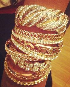fun sparkly bangles