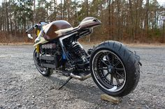Bmw Cafe Racer, Cafe Racers, K100 Bmw, Custom Bikes, Cars And Motorcycles, Racing, Bricks, Vehicles, Friends