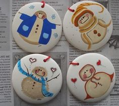 Handpainted ornaments