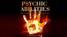 Psychic abilities: How to recognise them and develop them further Empath Abilities, Psychic Abilities, Love Spell Chant, Aura Reading, Palm Reading, Best Psychics, Secret Power, Online Psychic, Psychic Development