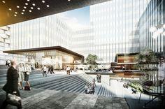 MK7-8 München Hirschgarten kadawittfeldarchitektur 2015 #highrise #office http://rdt.ac/e1077