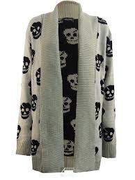 skull cardigan - Google Search
