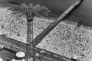 Helicopter views of the United States, Coney Island, New York