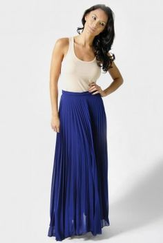 maxi colorful skirt