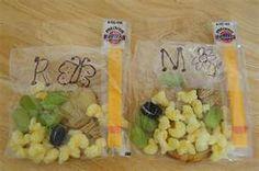 Tons of preschool snack ideas