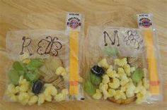 Tons of preschool snack ideas