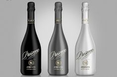 Product Launch - Zonins Prosecco, Black, Grey and White