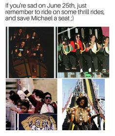 Today is about remembering Michael in a great way, go out and have some fun and think of him! :)