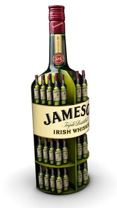 Agricultural Alcohol Displays : Jameson Retail Display