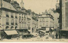AUBUSSON, la place de la Halle - Bfm Limoges