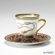 HERMES Cheval d Orient teacup