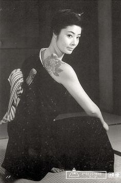 Fuji Sumiko (藤純子) 1945-, Japanese Actress, 富司純子