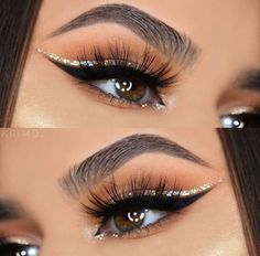 Mascara allows you to darken and extend your eyelashes to true movie starlet glamour, and forms the central piece of many women's make up bags. Get the most from this essential bit of make up kit with these three essential mascara tip Makeup Eye Looks, Cute Makeup, Glam Makeup, Gorgeous Makeup, Pretty Makeup, Eyeshadow Makeup, Hair Makeup, Awesome Makeup, Makeup Brushes