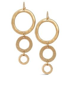 Chico's Yulia Gold Linear Earring #chicos