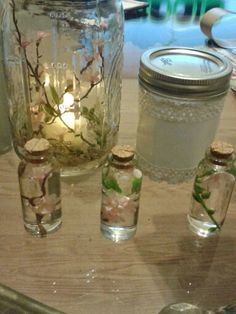 Just made these cute center pieces. So adorable to go along with a Southern Bells Theme