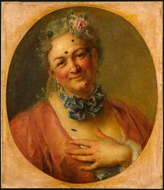 Charles-Antoine Coypel Le Chanteur Pierre de Jelyotte (1713-1797) dans le rôle de la Nymphe Platée