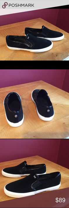 Michael kors perforated black slip on sneakers Brand new totally ready for spring slip on sneakers in black perforated.  These are brand new. SZ 8.5M Michael Kors Shoes Sneakers