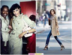 Базовый гардероб парижанки. Версия Инес де ла Фрессанж.. Как носить тренч