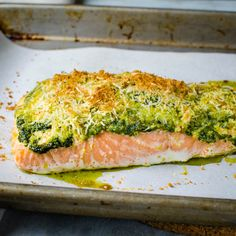Ready in 20 minutes this baked fish is simple and easy.