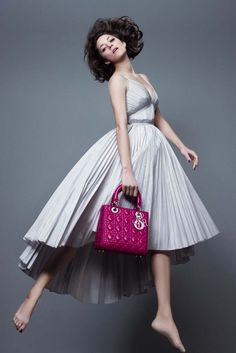 Marion Cotillard - Lady Dior - Spring 2014 Ad Campaign - Tyylitietotoimisto | Lily.fi