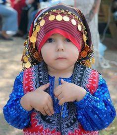 Turkmen/ (Yoruk) child from Türkiye (Turkey)