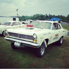 @danparsonjr's awesome Mercury Comet gasser! How much cooler can it get?? Follow the crew   @_smokey___     @keepthev8     @classicparadise_     @pontiacparadise_     @wagonparadise_     @projectparadise_   #merc #mercury #ford #fomoco #comet #gasser #nostalgia #dragracing #drags #badass #carporn