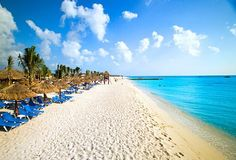 Cozumel, Mexico looks perfect.