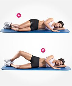 The 9 Best Butt Exercises | Women's Health Magazine... My physical Therapist said to try this and it helps so much!