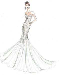 Browse the stunning Galina Signature wedding dresses & wedding gowns collection at David's Bridal, offered at an affordable price. Bridal Collection, Dress Collection, Signature Collection, Glitter Bridesmaid Dresses, Dress Sketches, Bridal Fashion Week, Glamorous Wedding, New Wedding Dresses, Davids Bridal