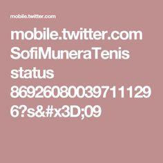 mobile.twitter.com SofiMuneraTenis status 869260800397111296?s=09
