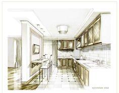 Галерея - дизайн интерьера минимализм квартира киев проект заказать