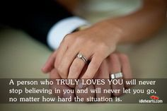 My parents are prime examples of sticking thru thick and thin...so I believe this is true